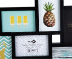 10-Photo Gallery Collage Frame - Black 4