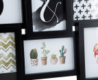 12-Photo Gallery Collage Frame - Black 5