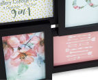 9-Photo Gallery Collage Frame - Black 5