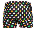 Happy Socks Men's Big Dot Boxer - Black/Multi 2