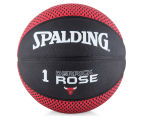 SPALDING NBA Chicago Bulls Derrick Rose Basketball - Size 7 1