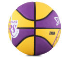 SPALDING NBA Los Angeles Lakers Basketball - Size 7 3