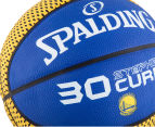 SPALDING NBA Golden State Warriors Stephen Curry Basketball - Size 7 4