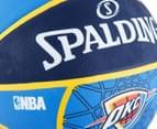 SPALDING NBA Thunder OKC Basketball - Size 7 4
