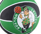 SPALDING NBA Boston Celtics Basketball - Size 7 4