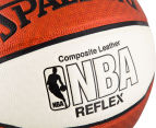 SPALDING NBA Reflex Composite Leather Basketball - Size 7 5