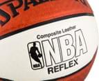 SPALDING NBA Reflex Composite Leather Basketball - Size 7 5