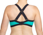 Berlei Women's Shift Underwire Sports Bra - Aqua/Black 5