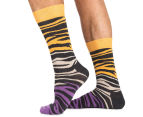 Happy Socks Men's EU Size 41-46 Bark Crew Sock 4-Pack - Multi 2
