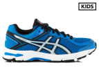 ASICS Grade-School Kids' GT-1000 4 GS Shoe - Electric Blue/Silver/Black 1