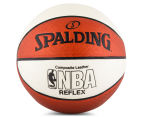 SPALDING NBA Reflex Composite Leather Basketball - Size 7 1