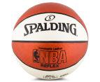 SPALDING NBA Reflex Composite Leather Basketball - Size 7 2