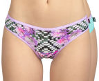 Bonds Women's Hipster Bikini 2-Pack - Mint/Optic Bloom 1
