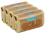 3 x Palmolive Naturals Soap Gold 4pk 90g 3