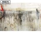 Bubbles Under Attack 90x59cm Canvas Wall Art 1