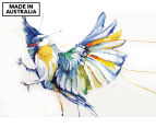 Watercolour Bird 90x59cm Canvas Wall Art 1