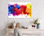 Primary Stains 90x59cm Canvas Wall Art 2