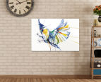 Watercolour Bird 90x59cm Canvas Wall Art 2