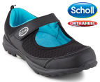 Scholl Women's Gusto Orthaheel Shoe - Black 1