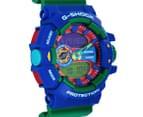 Casio G-Shock Men's 53mm GA400-2A Duo Watch - Blue/Green 2