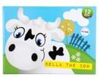 Korimco Jumping Animals Bella The Cow - White 3