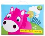 Korimco Jumping Animals Harry The Horse - Pink 3