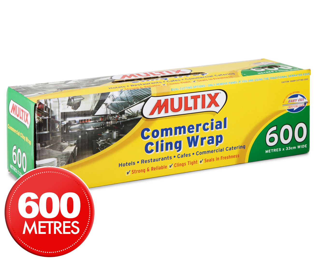multix commercial cling wrap 600m x 33cm catch com au