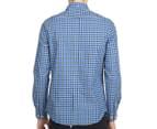Ben Sherman Men's House Gingham Shirt - Sky Blue 5