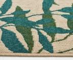 Colour Leaves 220x150cm UV Treated Indoor/Outdoor Rug - Multi 4