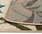 Colour Leaves 220x150cm UV Treated Indoor/Outdoor Rug - Multi 6