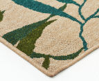 Colour Leaves 320x230cm UV Treated Indoor/Outdoor Rug - Multi 3