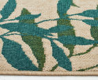 Colour Leaves 320x230cm UV Treated Indoor/Outdoor Rug - Multi 4