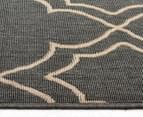 Geometric 270x180cm UV Treated Indoor/Outdoor Rug - Grey 4