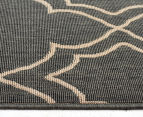 Geometric 320x230cm UV Treated Indoor/Outdoor Rug - Grey 4