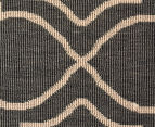 Geometric 320x230cm UV Treated Indoor/Outdoor Rug - Grey 5