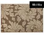 Oriental 160x110cm UV Treated Indoor/Outdoor Rug - Malt 1