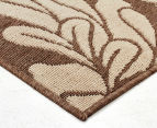 Oriental 160x110cm UV Treated Indoor/Outdoor Rug - Malt 3