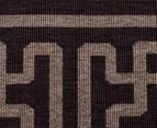 Columns 160x110cm UV Treated Indoor/Outdoor Rug - Brown 6
