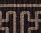 Columns 220x150cm UV Treated Indoor/Outdoor Rug - Brown 5
