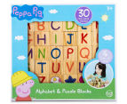 Peppa Pig 30Pc Alphabet & Puzzle Blocks 1