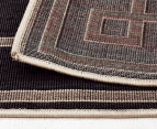 Borders 160x110cm UV Treated Indoor/Outdoor Rug - Charcoal 6