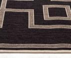 Borders 320x230cm UV Treated Indoor/Outdoor Rug - Charcoal 4