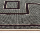 Borders 220x150cm UV Treated Indoor/Outdoor Rug - Grey 4