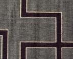 Borders 270x180cm UV Treated Indoor/Outdoor Rug - Grey 5