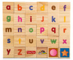 Fisher-Price 30Pc Little People ABC Puzzle Block Set 4