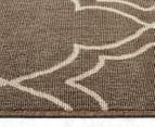 Geometric 160x110cm UV Treated Indoor/Outdoor Rug - Malt 4