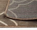 Geometric 220x150cm UV Treated Indoor/Outdoor Rug - Malt 6