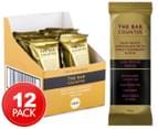 12 x The Bar Counter High Protein Indulge Silky White Chocolate, Sweet Raspberry & Acai 40g 1