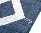 Gioia Casa Mason King Bed Mason Quilt Cover Set - Blue/Grey 6