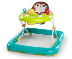 Bright Starts Pattern Pals Monkey Walker - Yellow/Teal 1